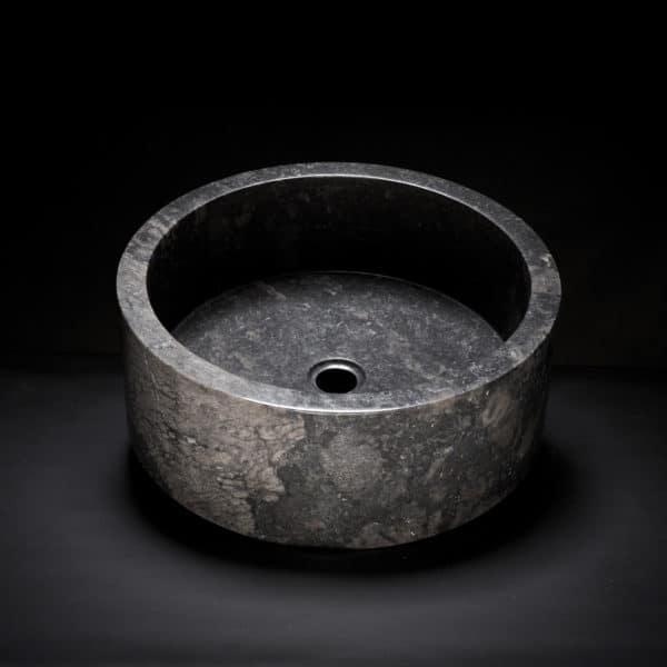Marble Drum Vessel Sink-154