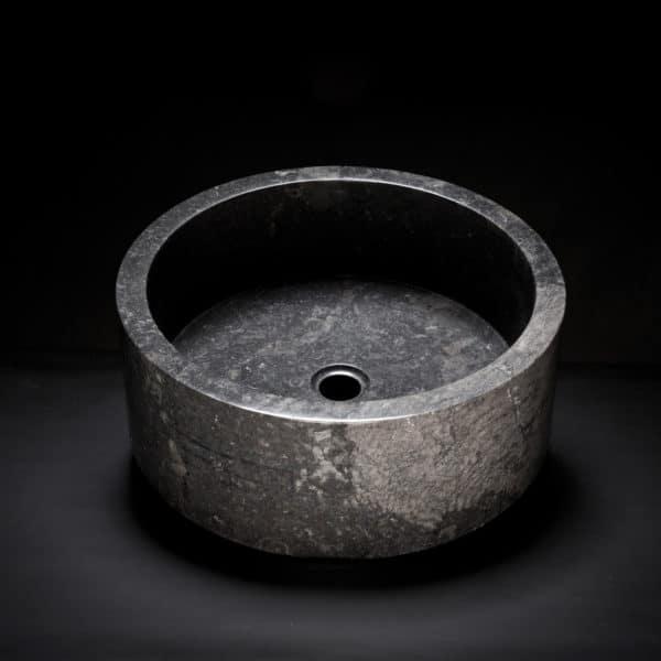 Marble Drum Vessel Sink-157