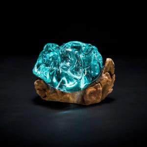 Molten Glass Ashtray-0