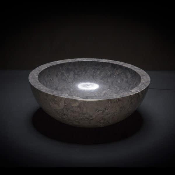 Marble Black Vessel Sink-672