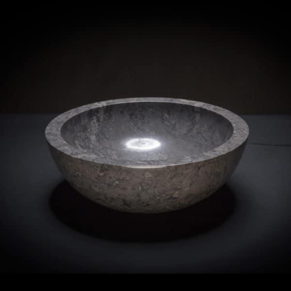 Marble Black Vessel Sink-669