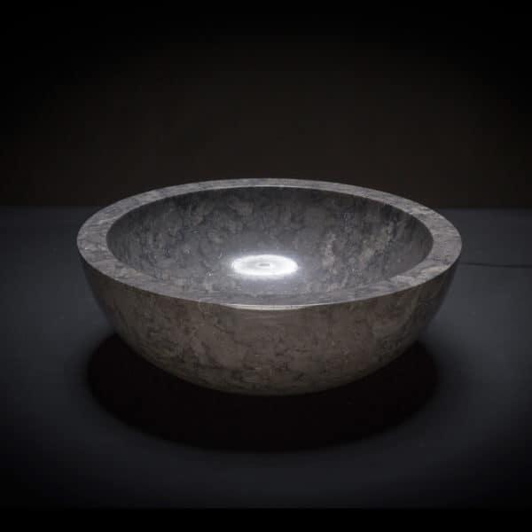 Marble Black Vessel Sink-0