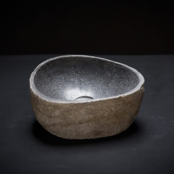 River Stone Mini Vessel Sink-342
