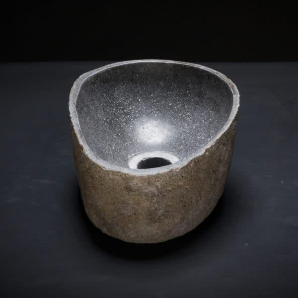 River Stone Mini Vessel Sink-341