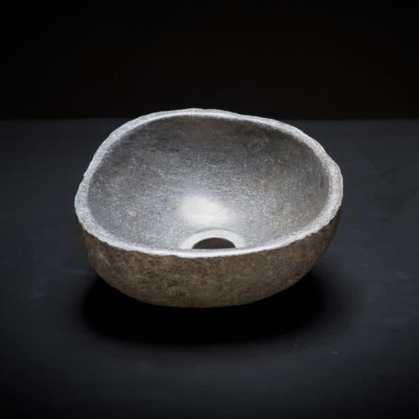 River Stone Mini Vessel Sink-0