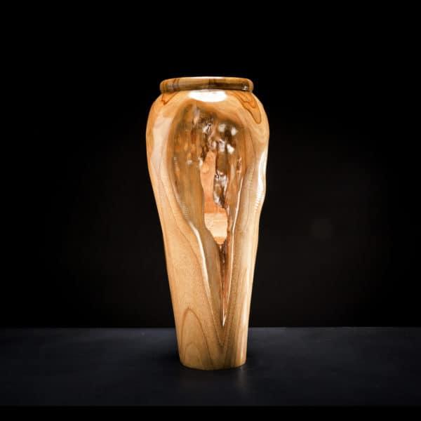 Teak Root Wooden Vase-385