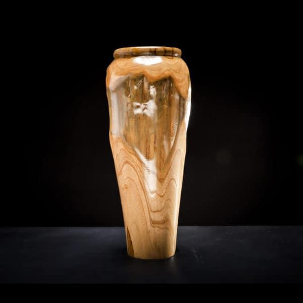 Teak Root Wooden Vase-0