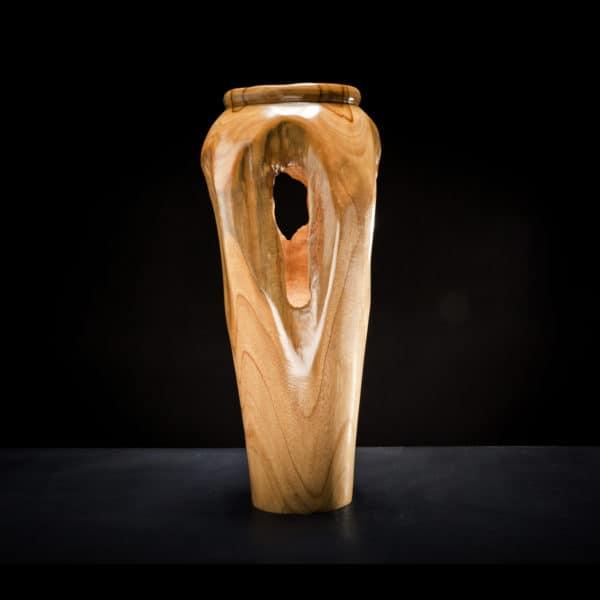 Teak Root Wooden Vase-389