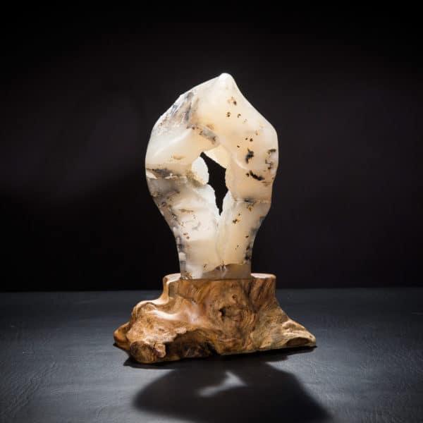Teak Mounted Geode-860