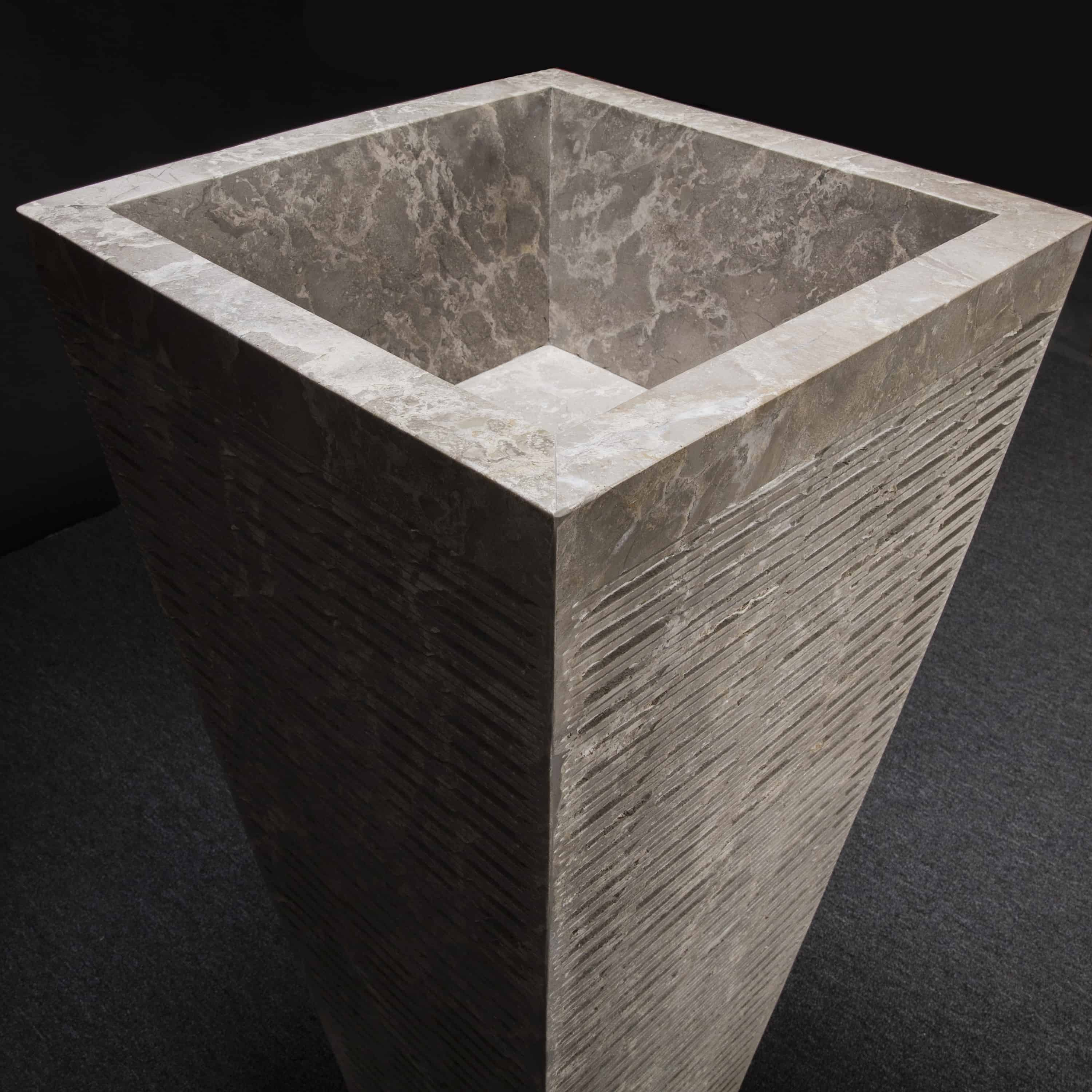 Home Decor Accessories: Marble Pedestal Sink, Square Tapered