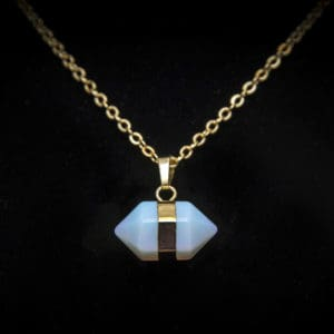 Moonstone Healing Crystal Necklace