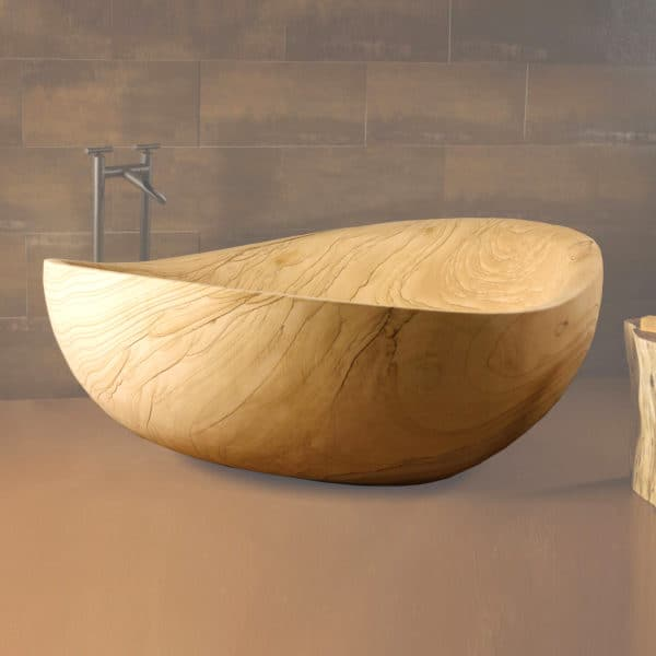 Stone Forest Papillion sandstone bathtub
