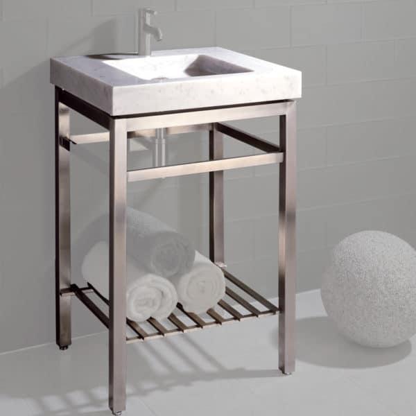 Marble Vanity Sink Set