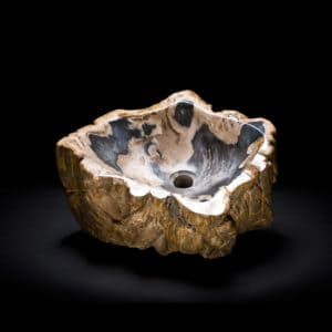 Petrified Wood Stone Vessel Sink