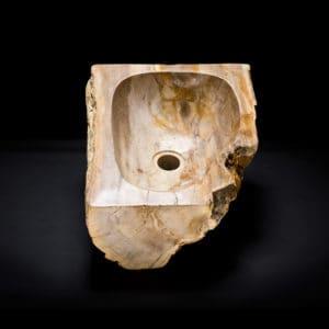 Corner Vessel Stone Sink