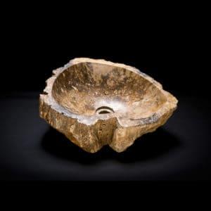 Petrified Wood Stone Vessel Sink