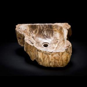 Corner Stone Vessel Sink