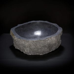 Black Marble Vessel Sink