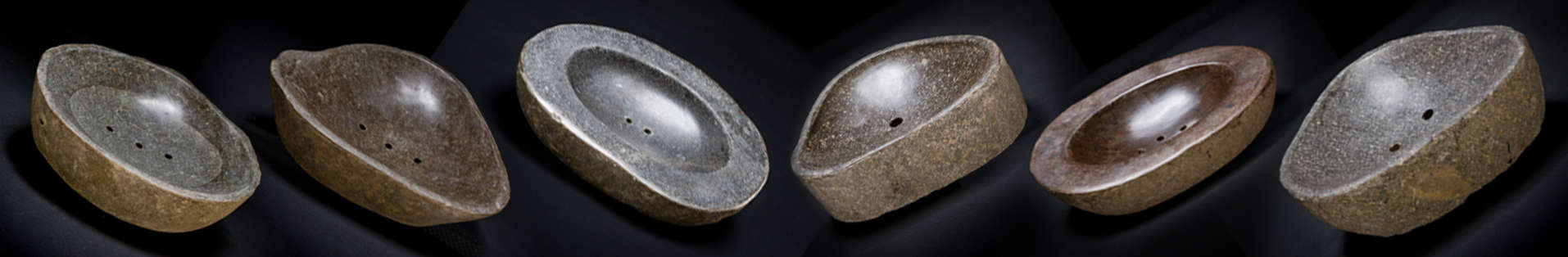 River Stone Soap Dishes