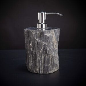 Soap Pump Petrified Wood