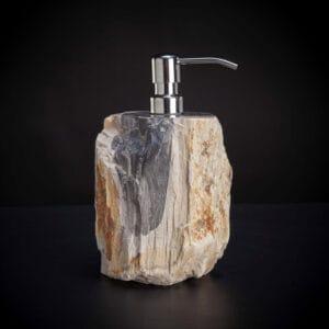 Soap Pump Petrified Wood