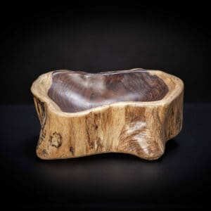 Carved Rosewood Bowl