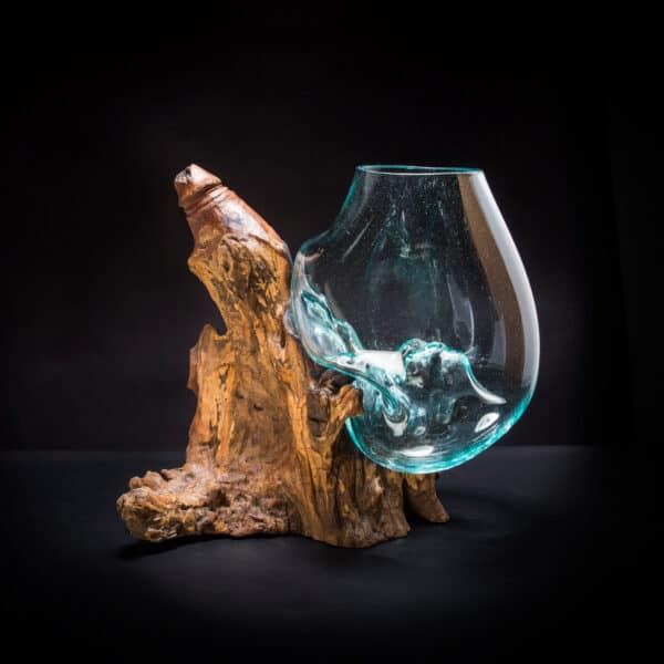 Molten Glass Suggestive Bowl