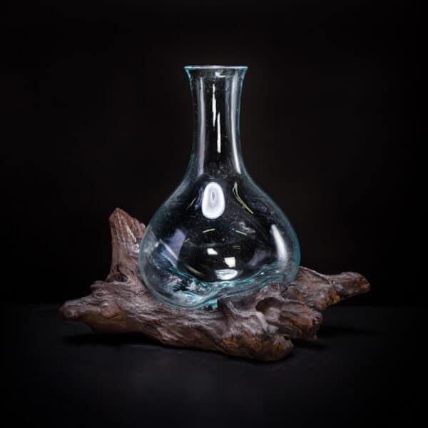 Molten Glass Decanter
