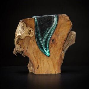Tree Slice Vase