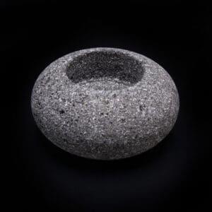 Lava Rock Votive Holder