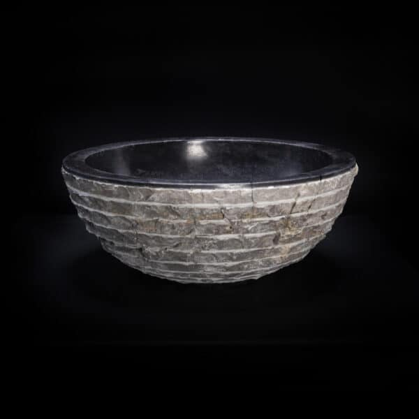 Black Marble Textured Sink