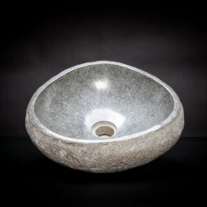 River Stone Vessel Sink