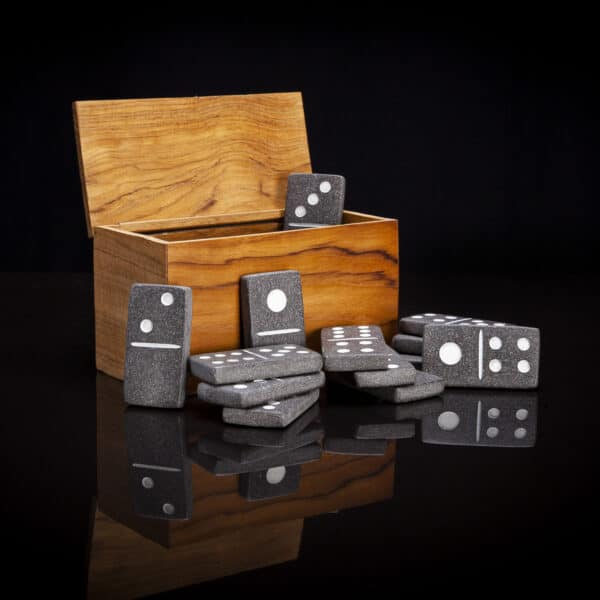 River Stone Domino Set
