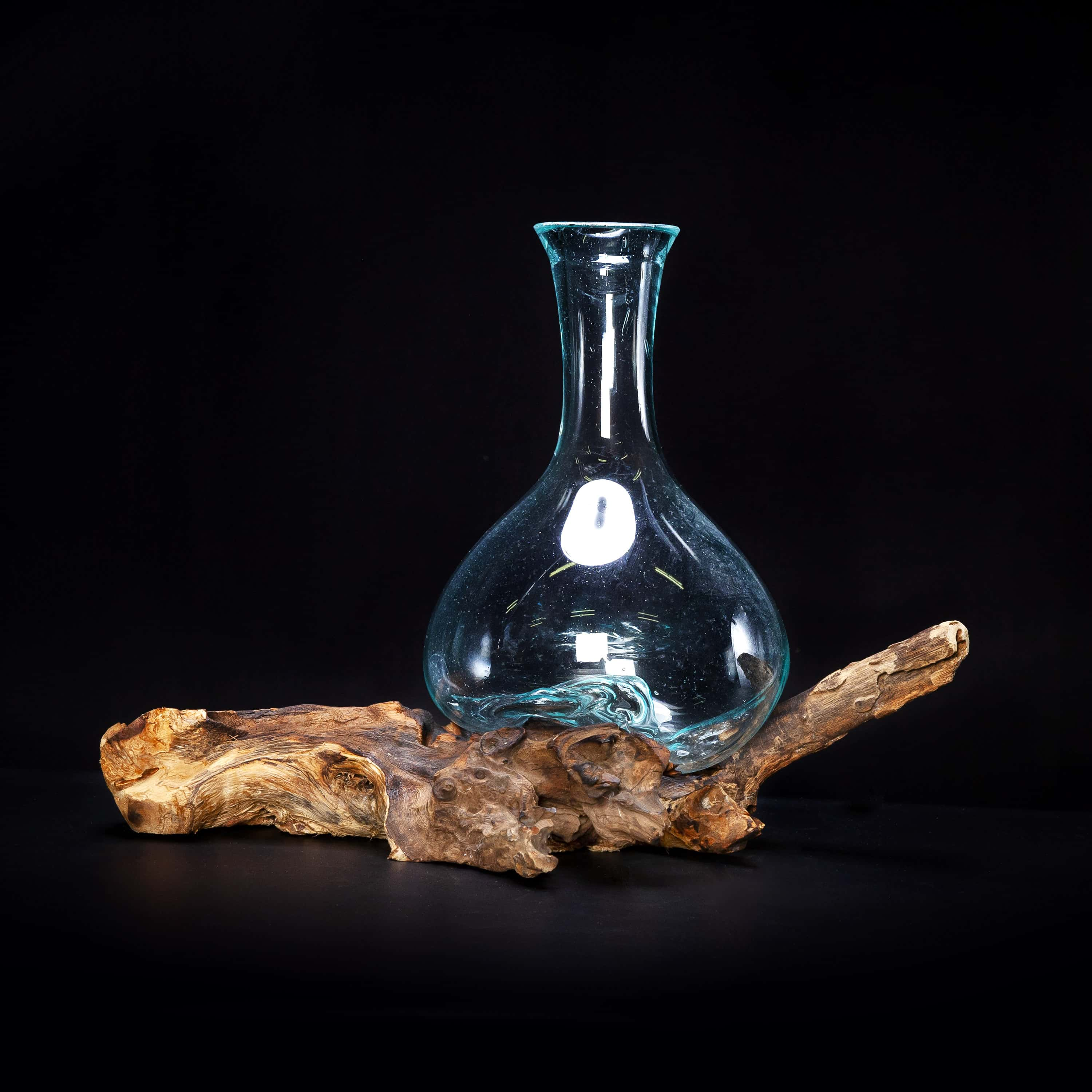 Molten Glass Decanter