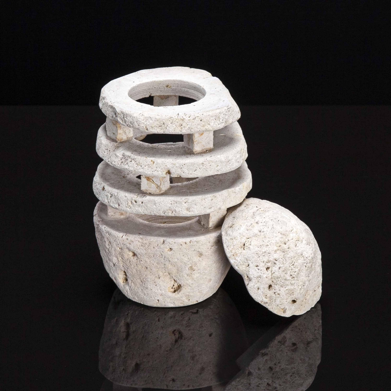 Natural Stone Tea Light Holder