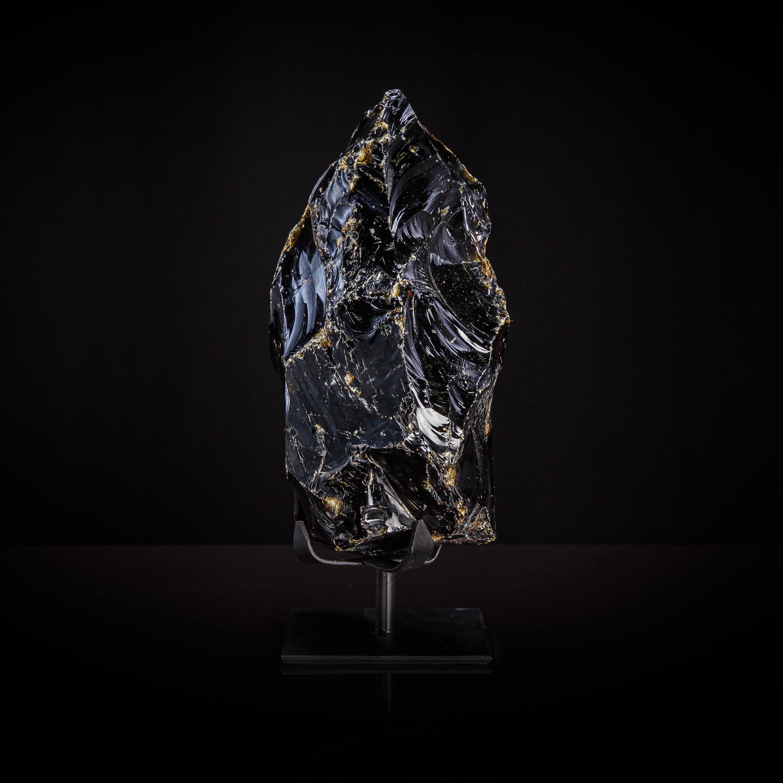Black Obsidian Precious Gemstone