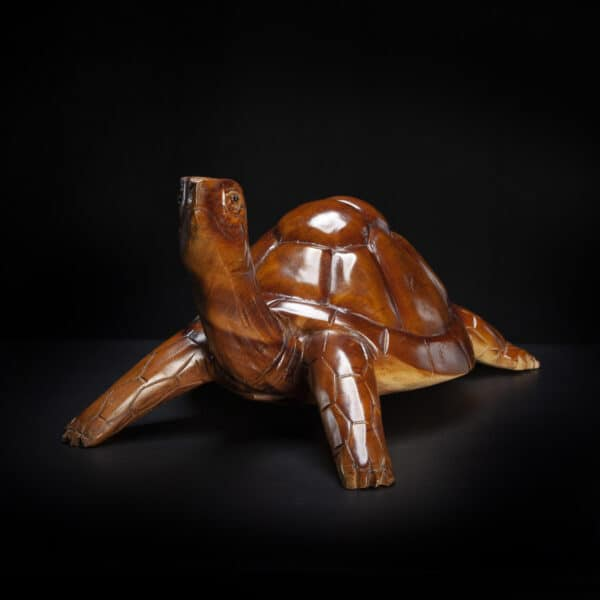 Carved Turtle Tortoise Sculpture